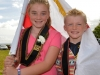 Mandatory Credit: ROWLAND WHITE/PRESSEYE Royal Black Last Saturday Parade Venue: Ballyronan Date: 31st Aiugust 2013 Caption: Chloe and Ryan Gates from Magherafelt get into the spirit of the Parade at Ballyronan