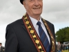 Mandatory Credit: ROWLAND WHITE/PRESSEYE Royal Black Last Saturday Parade Venue: Ballyronan Date: 31st Aiugust 2013 Caption: Sovereign Grand master Millar Farr