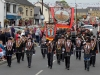 Mandatory Credit: ROWLAND WHITE/PRESSEYE Royal Black Last Saturday Parade Venue: Ballyronan Date: 31st Aiugust 2013 Caption: South Londonderry District no 4
