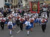 Mandatory Credit: ROWLAND WHITE/PRESSEYE Royal Black Last Saturday Parade Venue: Ballyronan Date: 31st Aiugust 2013 Caption: Through the Village
