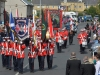 Mandatory Credit: ROWLAND WHITE/PRESSEYE Royal Black Last Saturday Parade Venue: Ballyronan Date: 31st Aiugust 2013 Caption: A blaze of colour