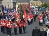 Mandatory Credit: ROWLAND WHITE/PRESSEYE Royal Black Last Saturday Parade Venue: Ballyronan Date: 31st Aiugust 2013 Caption: A blaze of colour